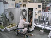 5.冷媒ガス本体に回収